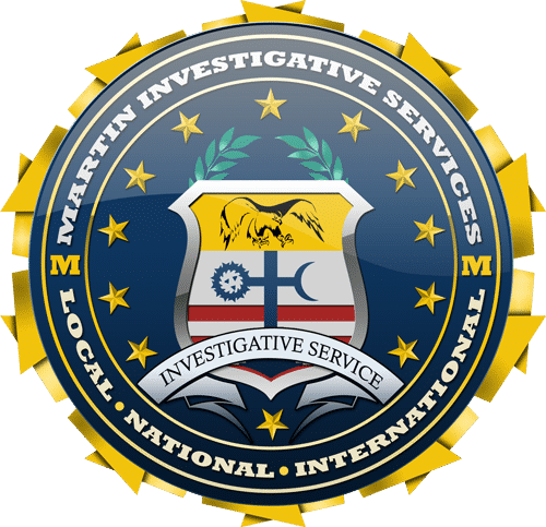 Martin Investigative Services private investigation. Seal.