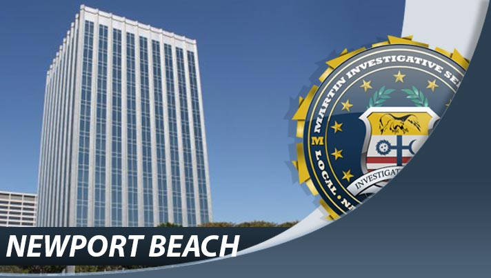 Private investigation from Martin Investigative Services, Newport Beach office. 620 Newport Center Drive, Suite 1030 Newport Beach, CA 92660. By appointment only. (800) 577-1080